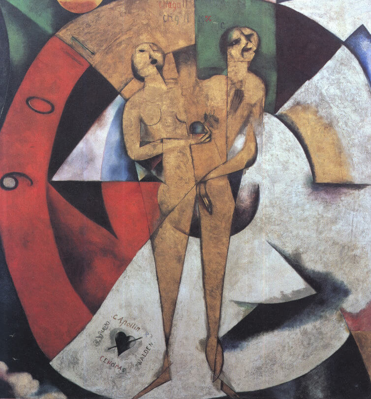 Homage to Apollinaire, 1911-12 by Marc Chagall