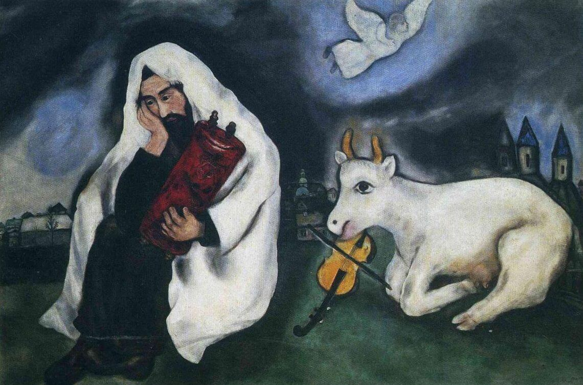 Solitude, 1933 by Marc Chagall