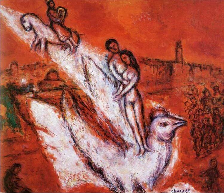 Song of songs, 1974 - by Marc Chagall