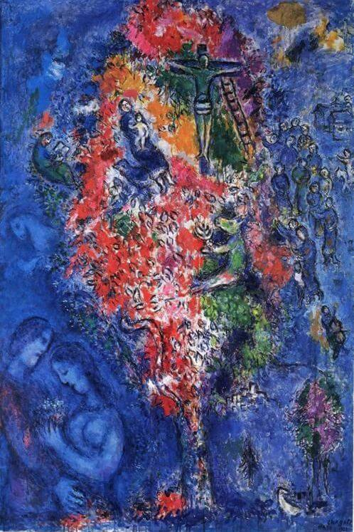 Tree of jesse, 1975 - by Marc Chagall