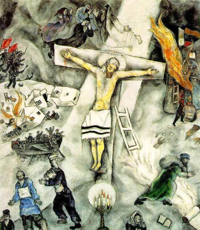 Image result for chagall crucifixion