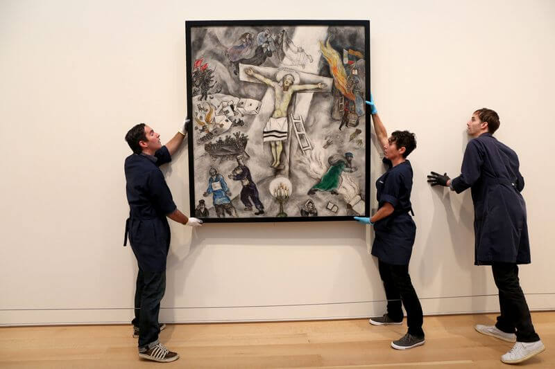 Photo of White Crucifixion by Marc Chagall